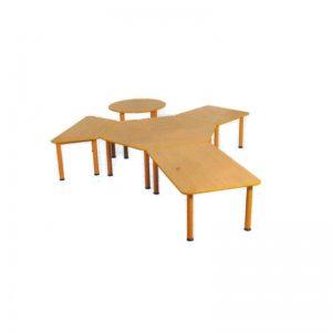 Stôl Domino okrúhly